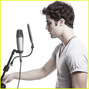 Darren Criss: Secret Recording Session in L.A.!