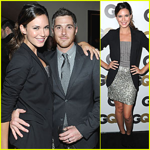 Dave Annable & Odette Yustman: GQ Partygoers!