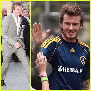 David Beckham: Soccer Stud Down Under