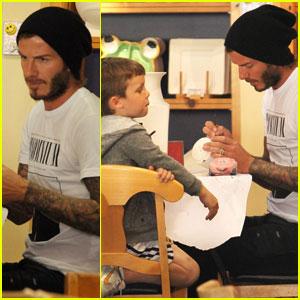 David Beckham: Color Me Mine with Cruz & Romeo!