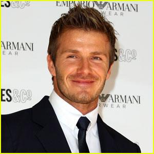 David Beckham: Launching Men's Undewear Line!