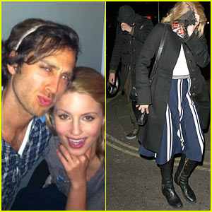 Dianna Agron: Thanksgiving with Alex Pettyfer!