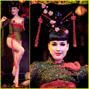 Dita Von Teese: 'Opium Den' at Erotica 2010