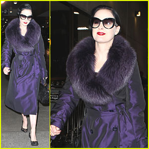 Dita Von Teese: From London to Los Angeles