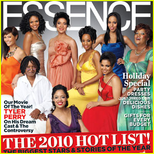 'For Colored Girls' Cast Covers 'Essence' December 2010