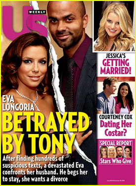 Tabloid Reports Eva Longoria Splits From Tony Parker
