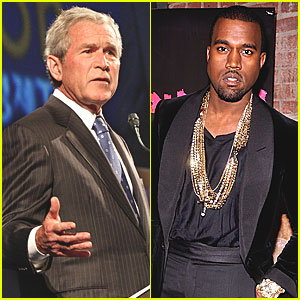Kanye West: 'I'm Like The Rap Version of George W. Bush'