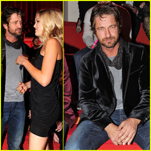 Gerard Butler: Front Row at Victoria's Secret Fashion Show!