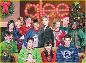Glee: Merry Christmas Card!