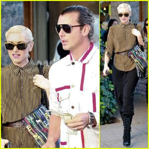 Gwen Stefani & Gavin Rossdale: Ivy Lunch Date