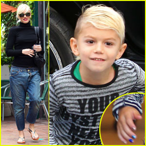 Gwen Stefani & Kingston: Mommy-and-Me Manicures!