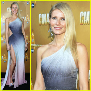 Gwyneth Paltrow: Beer Before CMA Awards!