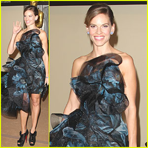 Hilary Swank: Governors Awards Gala!