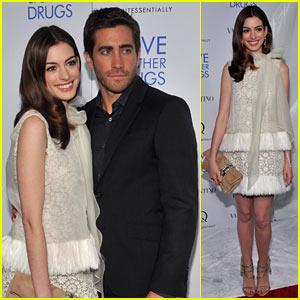 Jake Gyllenhaal & Anne Hathaway: 'Love' Screening in NYC