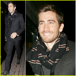 Jake Gyllenhaal: 'Harry Potter' Premiere Back Door!