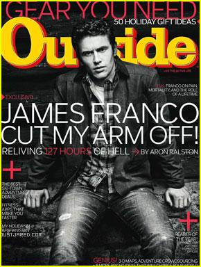 James Franco Goes 'Outside' for '127 Hours'