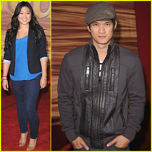 Jenna Ushkowitz & Harry Shum, Jr.: 'Tangled' Twosome