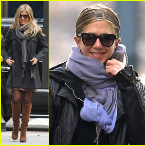 Jennifer Aniston: 'Wanderlust' Weekend Warrior