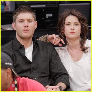 Jensen Ackles & Danneel Harris: Courtside Couple