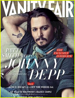 Johnny Depp Covers 'Vanity Fair' January 2011