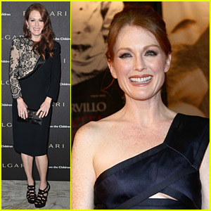 Julianne Moore: Save The Children Party
