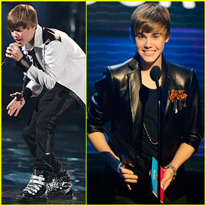 Justin Bieber: AMAs Performance Video, Artist of the Year Win!