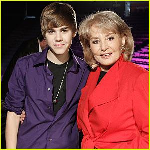 Barbara Walters to Justin Bieber: You're Fascinating!