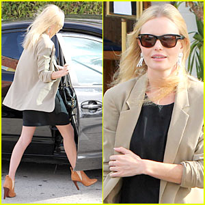Kate Bosworth Takes a 'BFF & Baby' Break