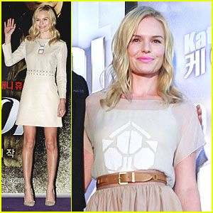 Kate Bosworth: 'Warrior's Way' in Seoul!