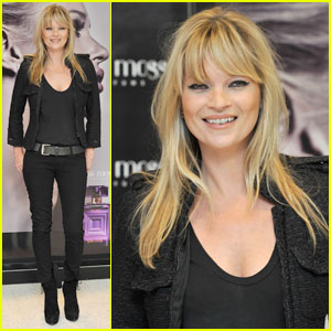 Kate Moss: 'Vintage Muse' Fragrance Launch in London