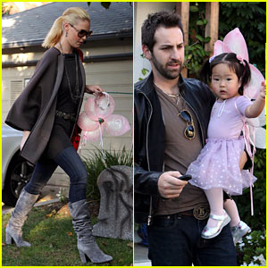 Katherine Heigl: Naleigh is a Fairy for Halloween!