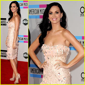 Katy Perry: AMAs Red Carpet 2010