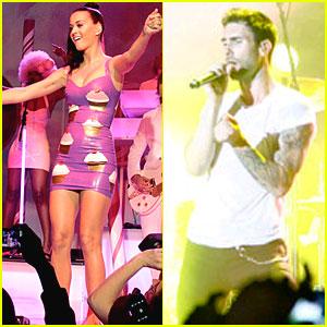 Katy Perry & Maroon 5: Windows Phone 7 Kickoff!