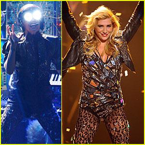 Ke$ha's AMAs Performance Video -- Watch Now!