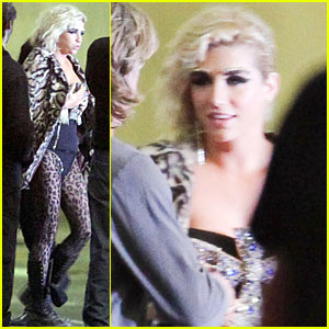 Ke$ha: 'We R Who We R' Video Shoot!