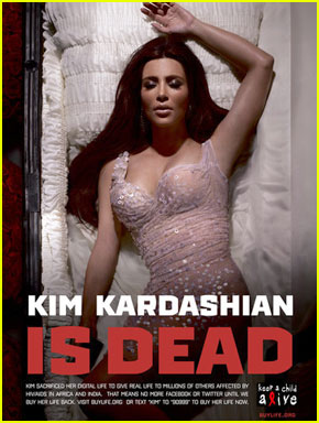 Kim Kardashian Is Dead, Says Ad