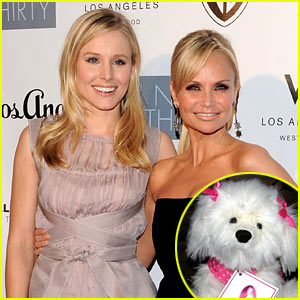 Kristin Chenoweth & Kristen Bell: Charity Double Dippers!