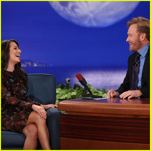 Lea Michele: Guest on Conan O'Brien's First Show!