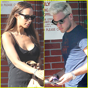 Leona Lewis & Dennis Jauch Look Forward To Lunch