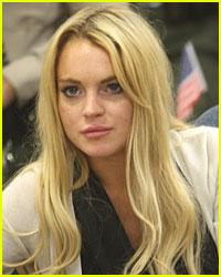Lindsay Lohan: Halloween Visitors in Rehab