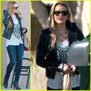 Lindsay Lohan: Thanksgiving with Papa Lohan!