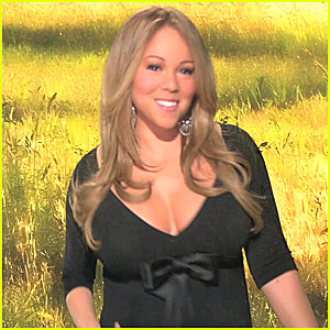 Mariah Carey Debuts HSN Line on Cyber Monday - VIDEO