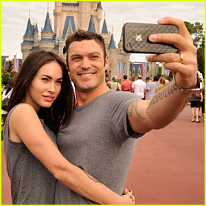Megan Fox: Disney World with Brian Austin Green!