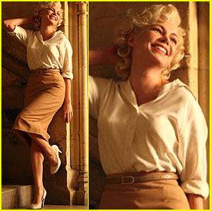Michelle Williams as Marilyn Monroe -- New Pic!