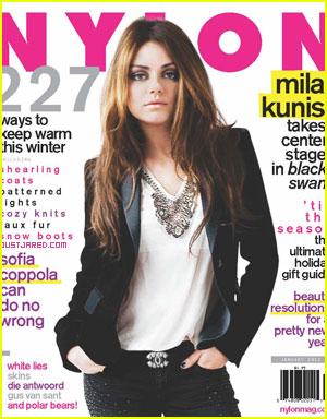 Mila Kunis Covers 'Nylon' December 2010/January 2011