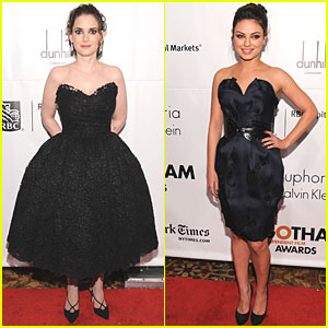 Mila Kunis & Winona Ryder: Gotham Gala!
