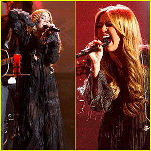 Miley Cyrus: AMAs Performance Video - Watch Now!