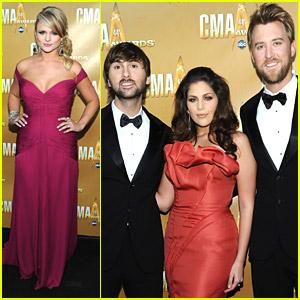 Miranda Lambert & Lady Antebellum: CMA Award Winners