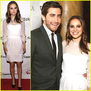 Natalie Portman: FINCA Gala with Jake Gyllenhaal!