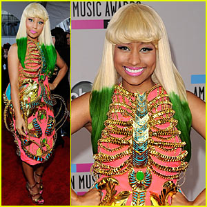 Nicki Minaj: AMAs Red Carpet 2010